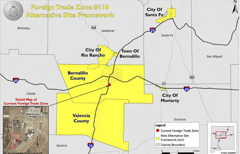 ABQ Foreign Trade Zone Goes Regional